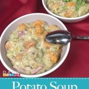 Easy Ham & Potato Soup Recipe