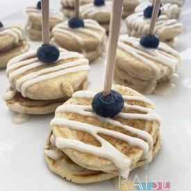 Yuzu Glazed Pancakes by The Allergy Chef