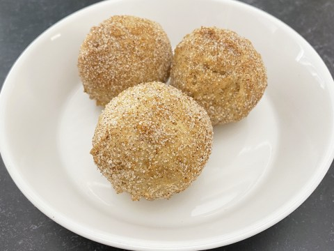 Gluten Free, Vegan, Top 8 Allergy Free Doughnut Holes by The Allergy Chef