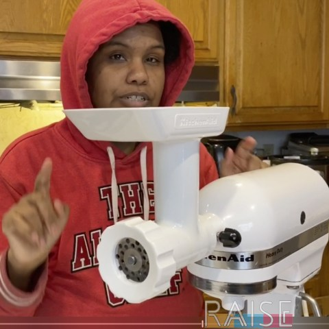 KitchenAid Meat Grinder by The Allergy Chef