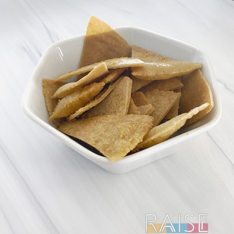 Gluten Free, Grain Free, Corn Free Sweet Tortilla Chips by The Allergy Chef