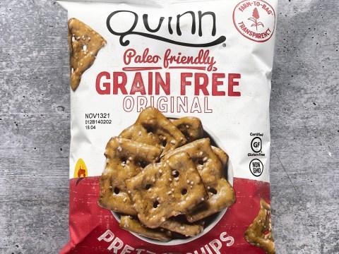 Quinn Grain Free Pretzel Chips