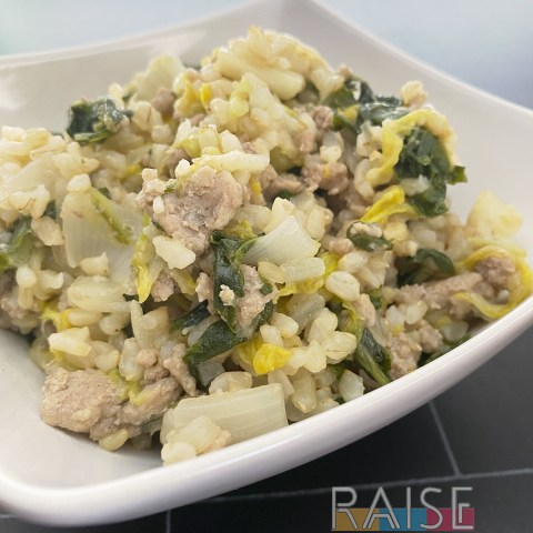 Asian Vegetables and Turkey by The Allergy Chef
