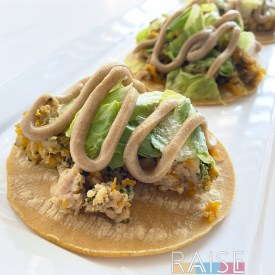 Chicken & Apple Tacos by The Allergy Chef