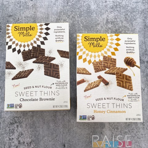 Simple Mills Sweet Thins by The Allergy Chef