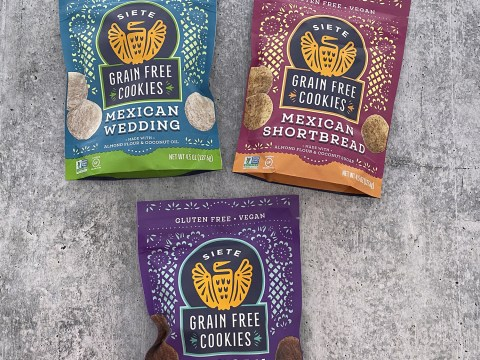 Siete Foods Grain Free Mexican Cookies in 3 Flavors by The Allergy Chef