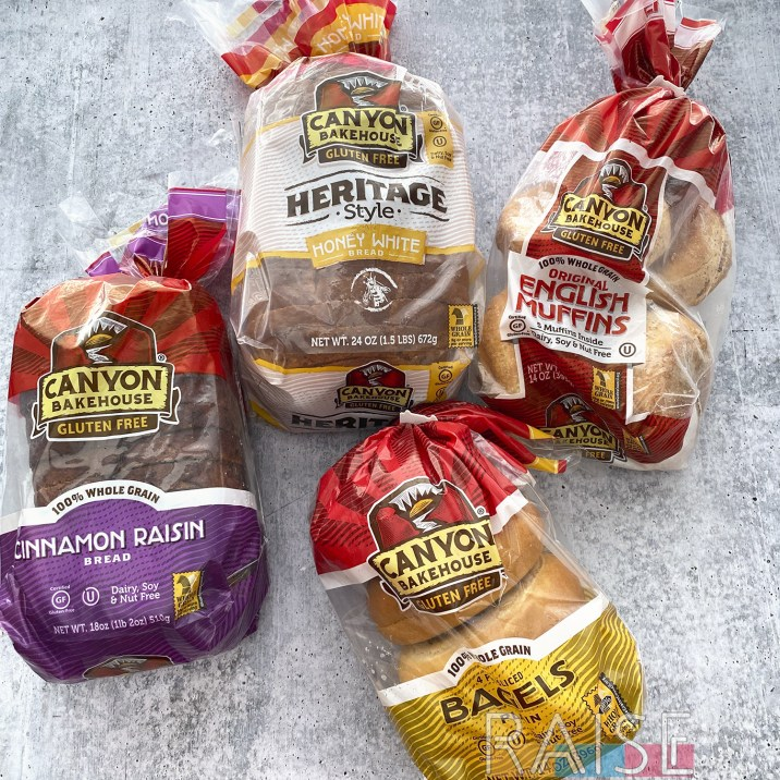 Canyon Bakehouse Gluten Free Bread Products by The Allergy Chef