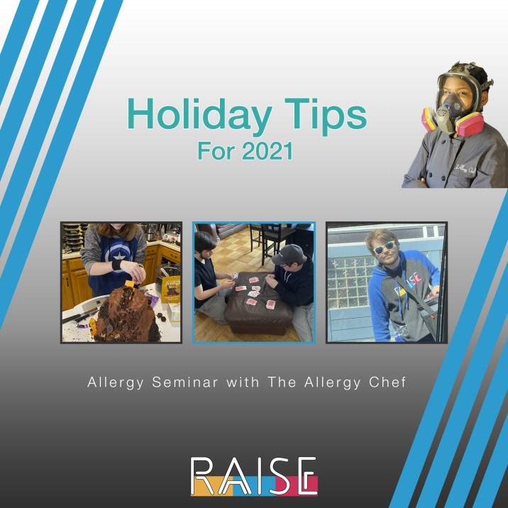 Allergy Seminar Holiday Tips
