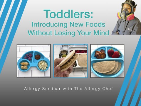 Allergy Seminar Introducing New Foods to Toddlers