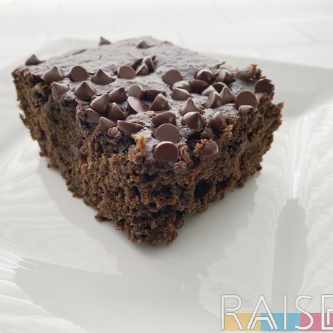 Gluten Free Vegan Boosted Brownies by The Allergy Chef