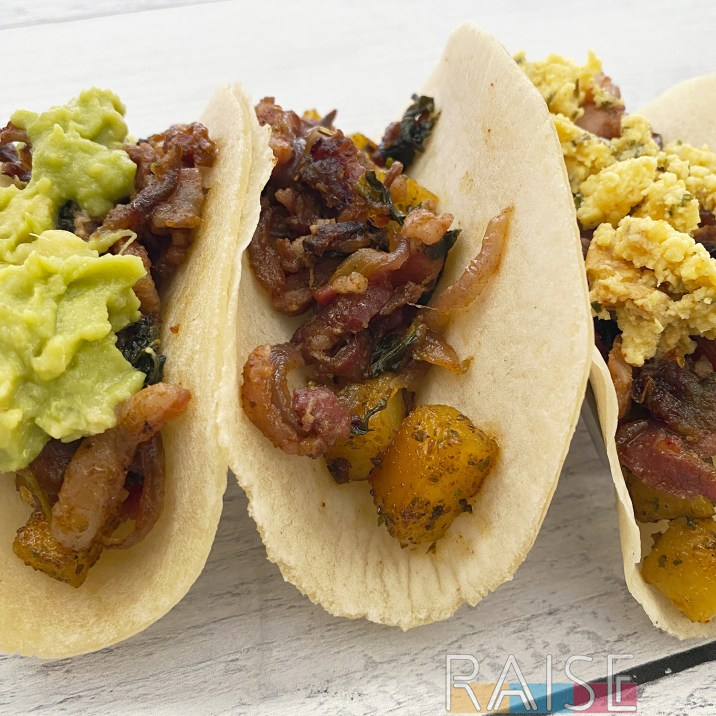 Gluten Free, Top 8 Free Breakfast Tacos by The Allergy Chef