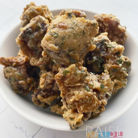 Grain Free Duck Nuggets by The Allergy Chef