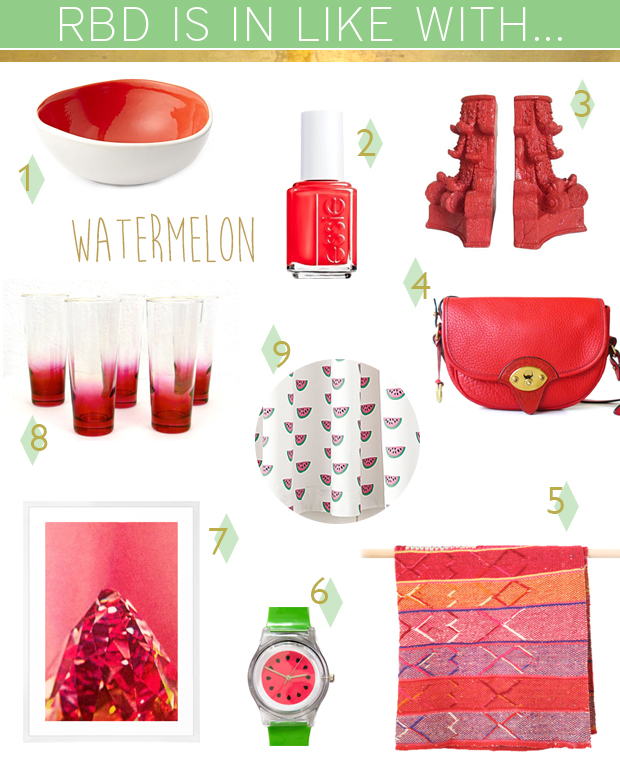 Raised by Design IN LIKE WITH: Watermelon