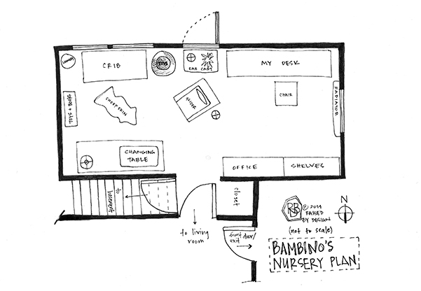 raised by design nursery design floorplan