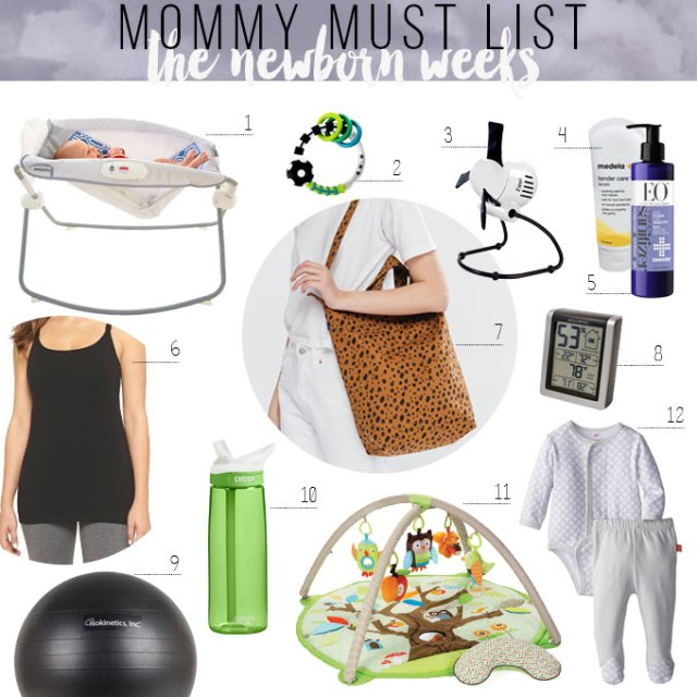 registry essentials for newborns