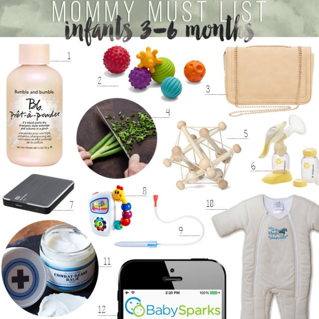 baby registry essentials mommy must list for infants