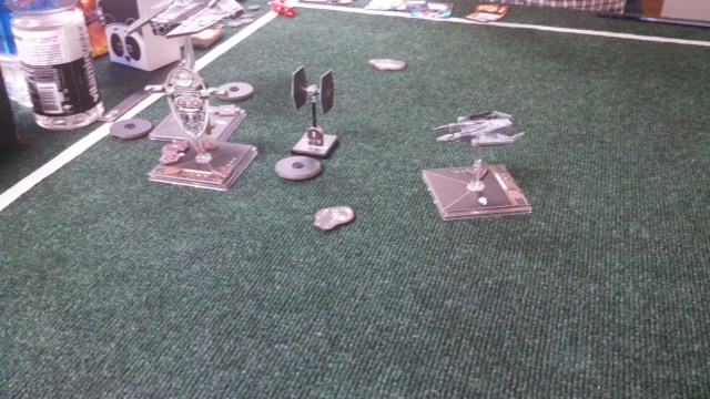 Boba bumps Chiraneau, ending his hope of a single game-deciding, ultra damage shot.