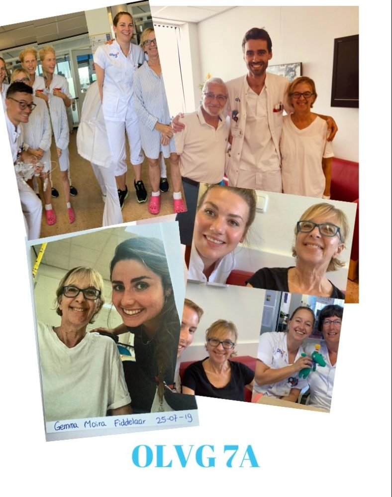 The medical staff who saved my life in Amsterdam's OLVG Hospital