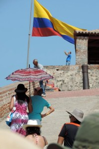 Colonial Fort in Cartagena, Colombia