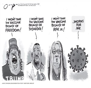 Jack Ohman editorial cartoon, Washington Post Writers Group