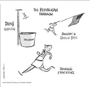 Marc Murphy Louisville Courier Journal Editorial Cartoon