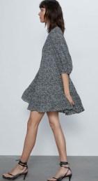 ZARA Micro Dot Mini Dress