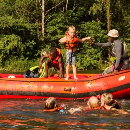 White Water Rafting Family Float Nile Explorer