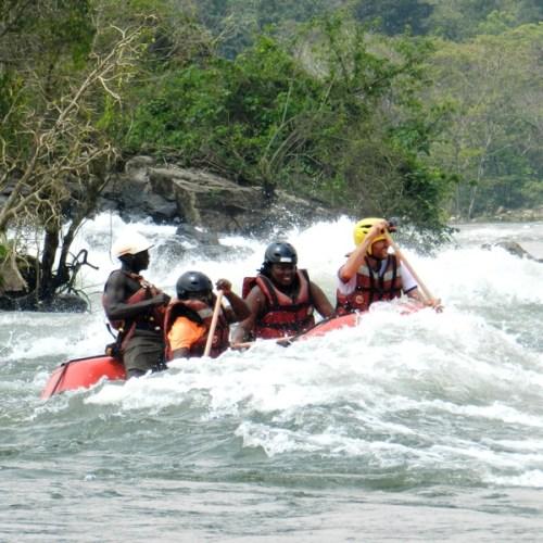 White Water Rafting Grade 5 Nile Explorer