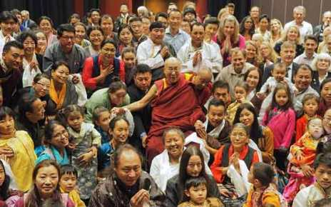 The Dalai Lama in Sweden