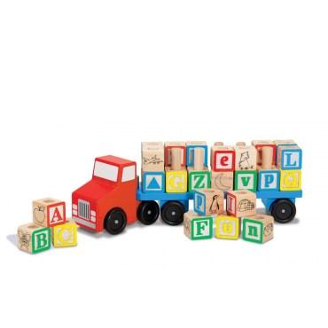Alfabet-truck