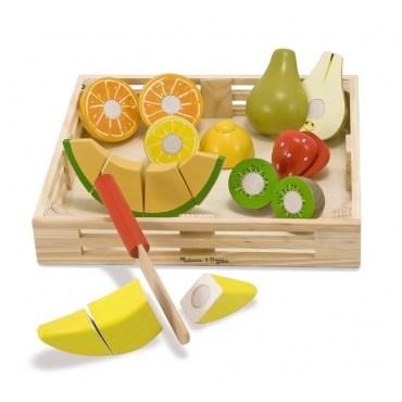houten fruitset