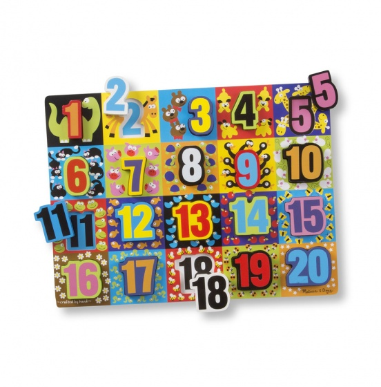 Numbers Chunky puzzel