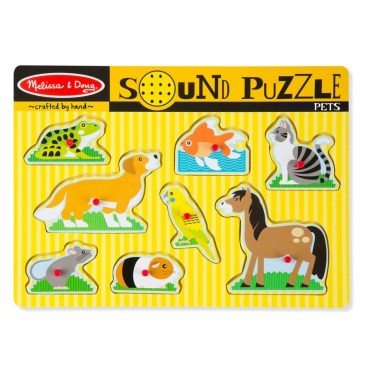vormenpuzzel huisdieren