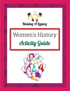 Women's History Activity Guide Cover