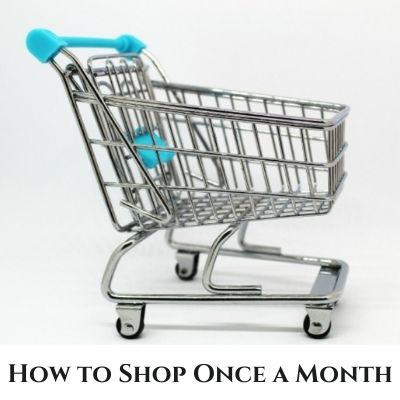 Once-A-Month Shopping