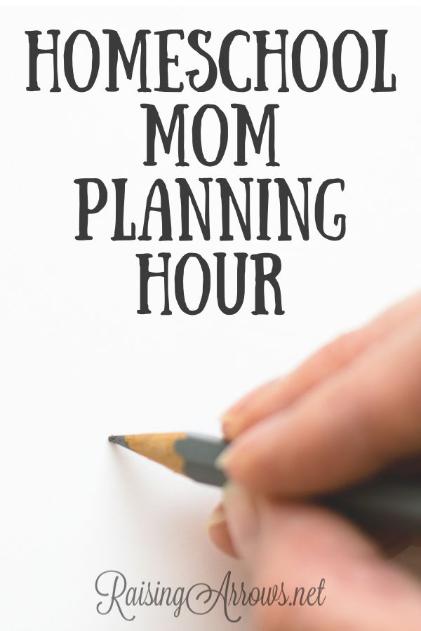 How to plan your homeschool (and homemaking!) week one night a week without needing to leave the house!