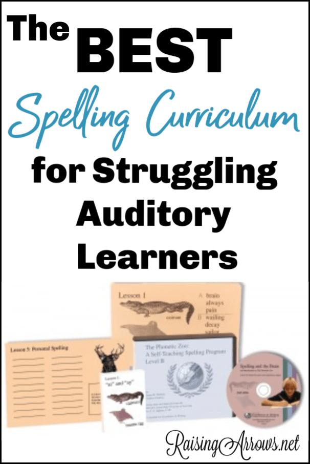 Finding spelling curriculum for struggling spellers is difficult, especially if you have an auditory learner.  Phonetic Zoo turned out to be perfect for us!