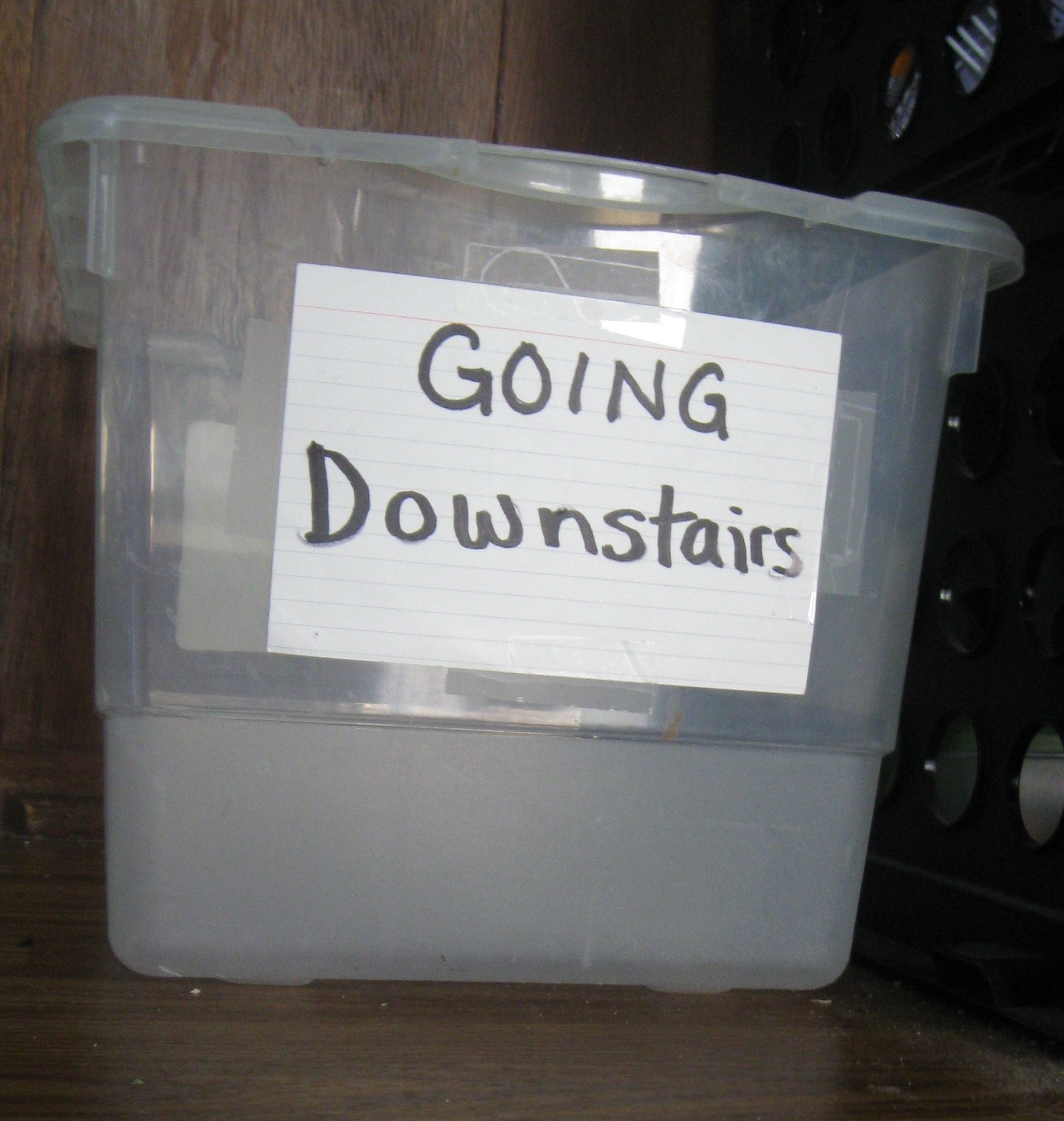 The Downstairs Box