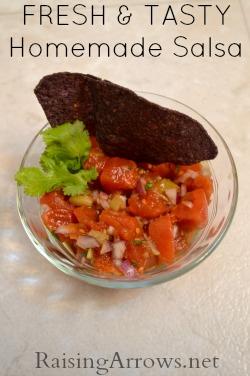 Homemade Salsa, I Love You
