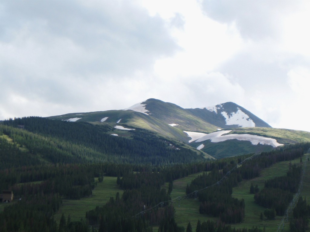 View of Breckenridge from our hotel room