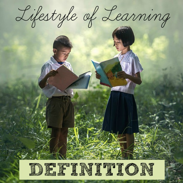 Having a homeschool built on a Lifestyle of Learning model means living books, life lessons, doing and being, active and living.
