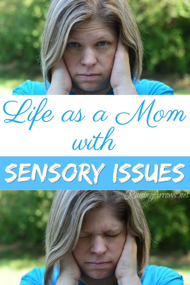 How to cope when you are a mom with sensory issues - tips, tricks, ideas, and help when everything is overwhelming.
