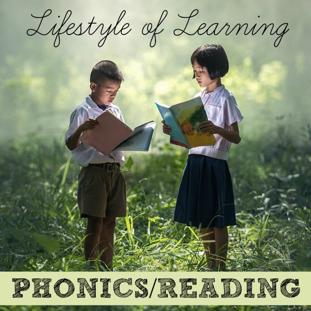Get away from the textbooks in your homeschool by using the Lifestyle of Learning model. Here's how you can incorporate reading and phonics into your everyday life.