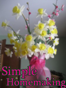 Simple Homemaking – A Return to My Roots