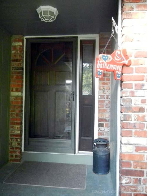 Our current front door