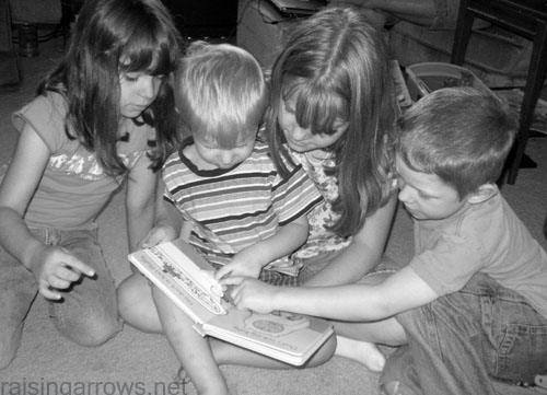 """Don't discourage kids from looking at picture books!  It is the gateway to """"real"""" reading!"""