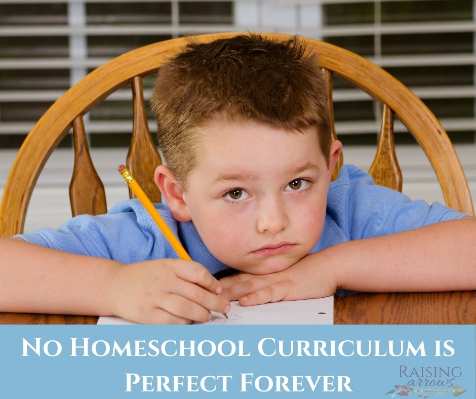 No Homeschool Curriculum is Perfect Forever