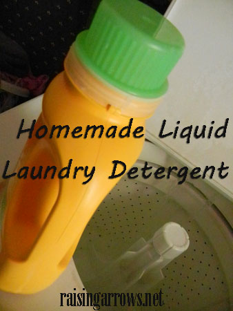 My homemade laundry detergent