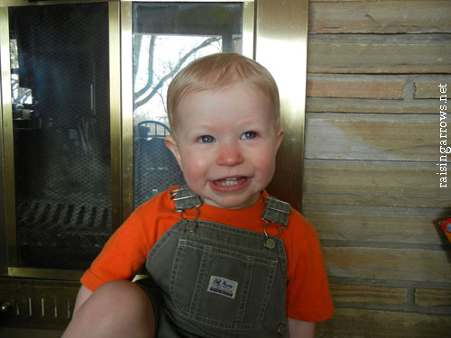 our youngest - age 18 months
