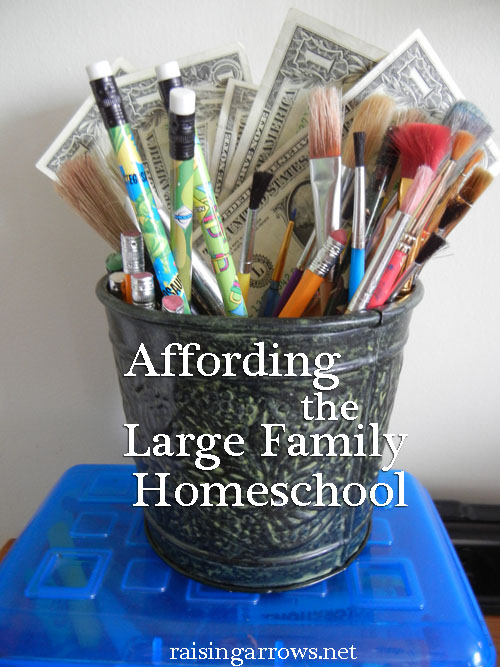 Affording the Large Family Homeschool